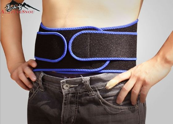 Cina Breathable Adjustable Neoprene Lumbar Back Suport Belt, Pinggang Kebugaran Trimmer Belt pemasok